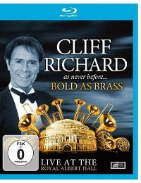 Cover Cliff Richard - Cliff Richard As Never Before... Bold As Brass - Live At The Royal Albert Hall [DVD]